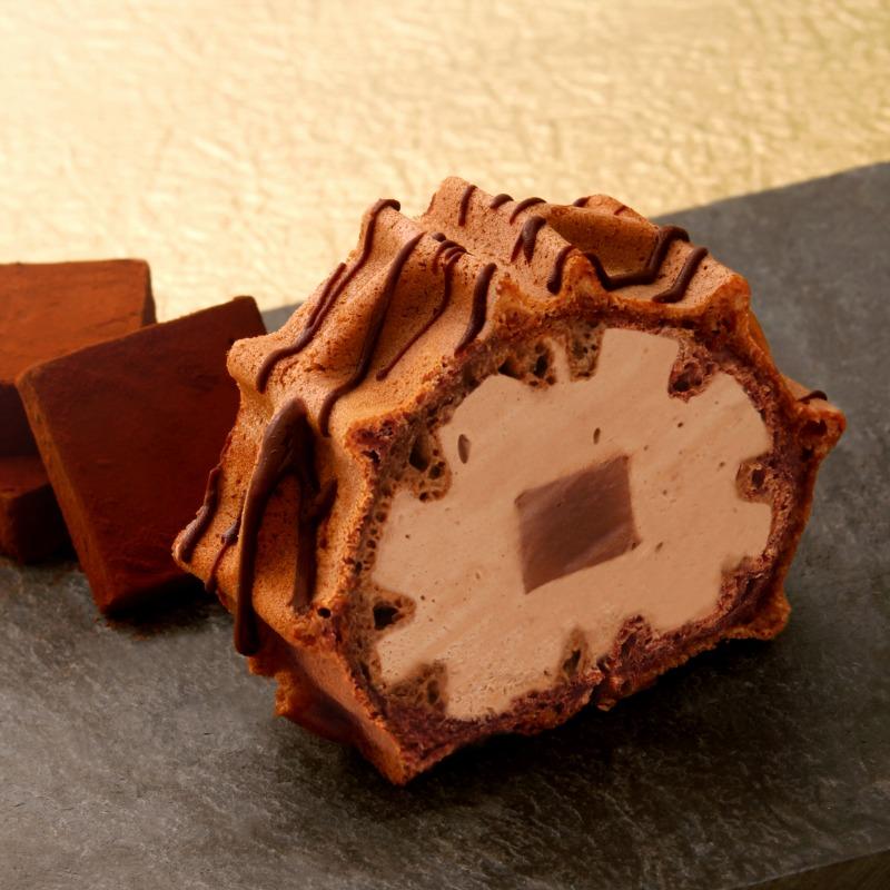 贅沢生チョコロール